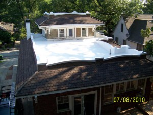 Residential Flat Roof